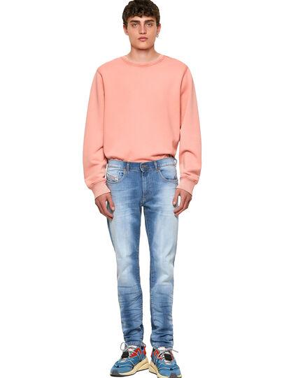 Diesel - D-Strukt 009NF, Blu Chiaro - Jeans - Image 5