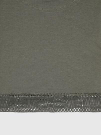 Diesel - UFTEE-GIORGMESH-SV, Verde Militare - T-Shirts - Image 4