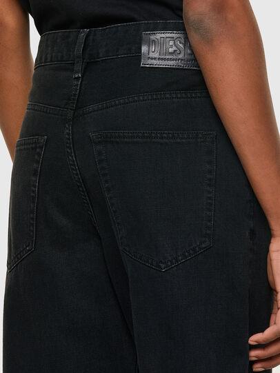 Diesel - D-Reggy 009RL, Nero/Grigio scuro - Jeans - Image 4