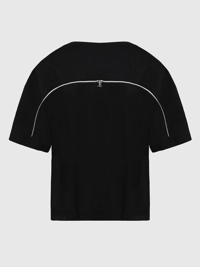 Diesel - T-BOWLY, Nero - T-Shirts - Image 2