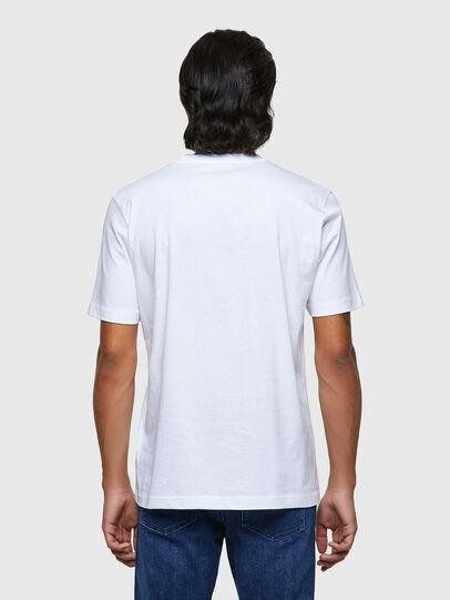 Diesel - T-JUST-B54, Bianco - T-Shirts - Image 2