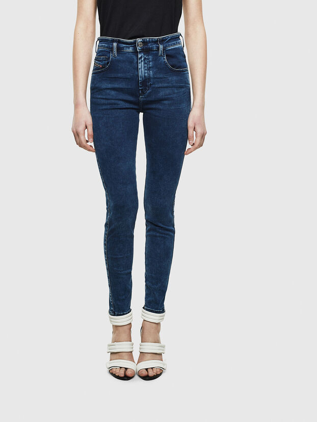 Slandy High 0094Z, Blu Scuro - Jeans