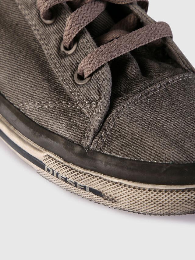 Diesel - EXPOSURE IV W, Grigio Jeans - Sneakers - Image 4