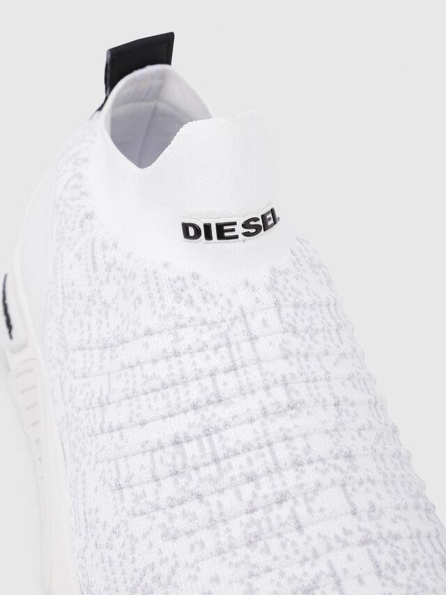 Diesel - S-KB ATHL SOCK, Bianco - Sneakers - Image 5