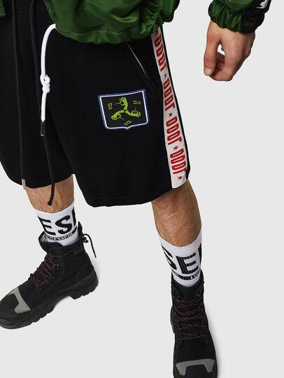 Diesel - K-ROB, Nero - Shorts - Image 4