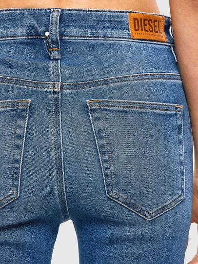 Diesel - Slandy High 009AG, Blu medio - Jeans - Image 3