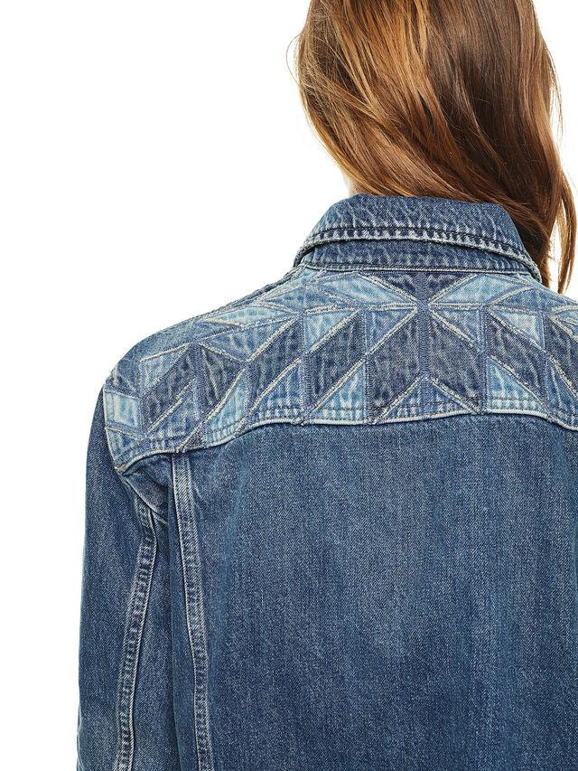 Diesel - WONDERY, Blu Jeans - Giacche - Image 4
