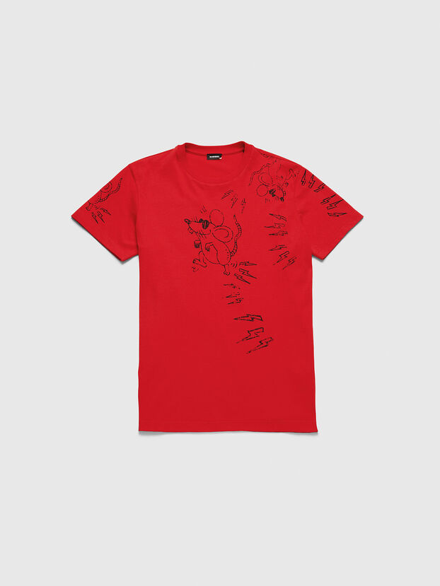 CL-T-DIEGO-3, Rosso - T-Shirts