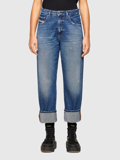 Diesel - D-Reggy 009RV, Blu medio - Jeans - Image 1
