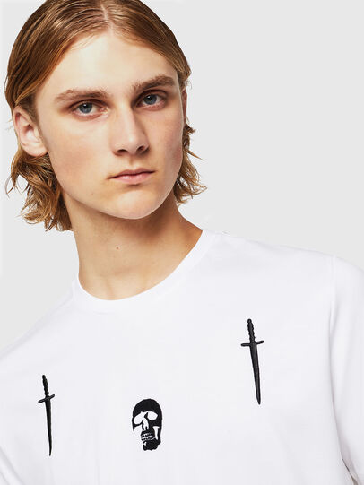 Diesel - TY-X2, Bianco - T-Shirts - Image 3