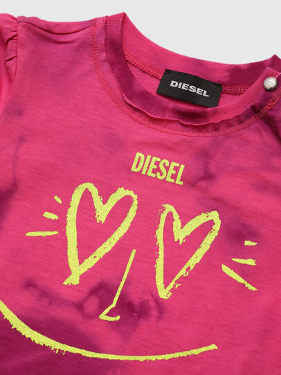 Diesel - TINTDB, Rosa - T-shirts e Tops - Image 3