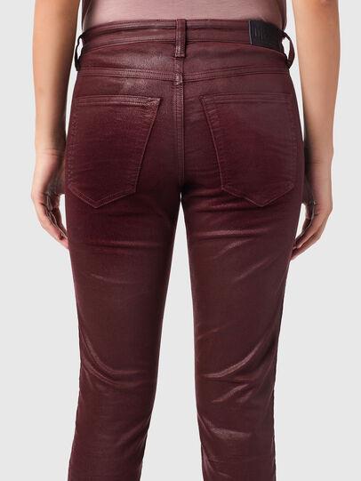 Diesel - Babhila 069XI, Rosso - Jeans - Image 4