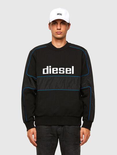 Diesel - S-LAIN, Nero - Felpe - Image 1