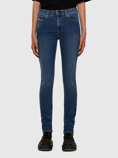 Diesel - D-Roisin 085AB, Blu medio - Jeans - Image 1