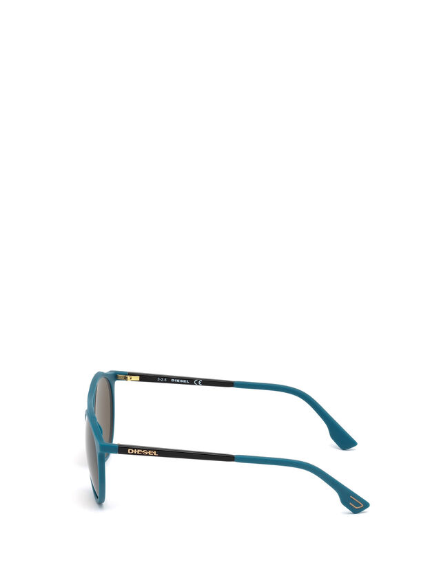 Diesel - DM0195, Blu - Occhiali da sole - Image 3