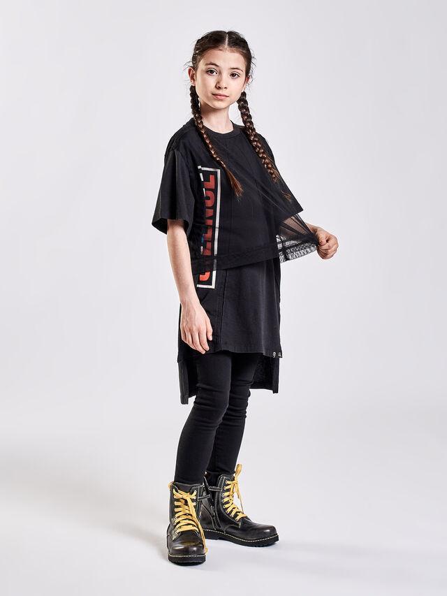 Diesel - TKESHIA, Nero - T-shirts e Tops - Image 4