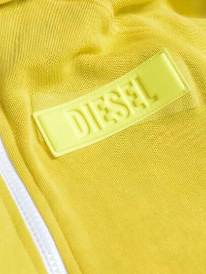 Diesel - SGIMHOODZIP, Giallo - Felpe - Image 3
