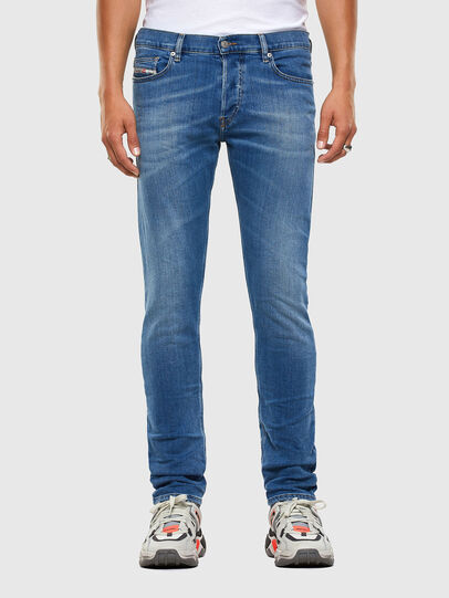 Diesel - D-Luster 009EK, Blu Chiaro - Jeans - Image 1