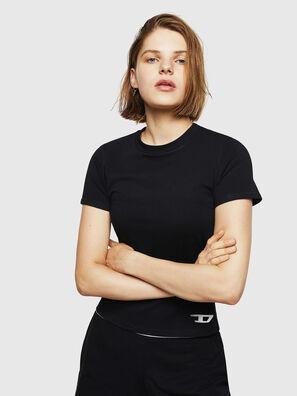 UFTEE-ROUNDFEM, Nero - T-Shirts