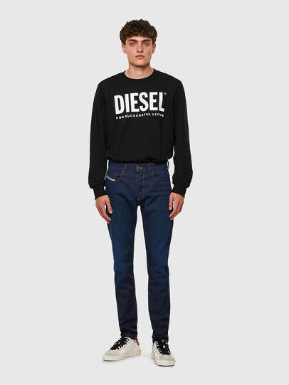 Diesel - D-Strukt JoggJeans® Z69VZ, Blu Scuro - Jeans - Image 5