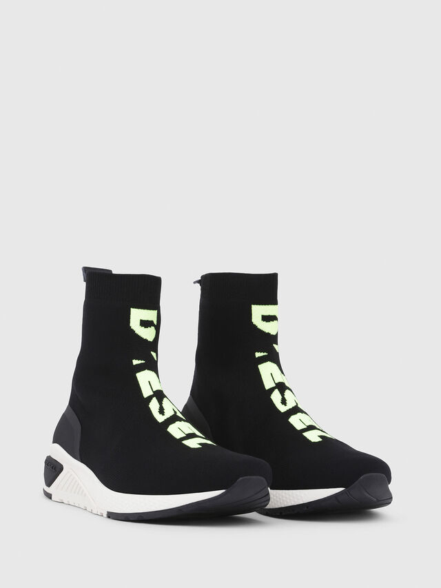 Diesel - S-KB MID ATHL SOCK, Nero - Sneakers - Image 2