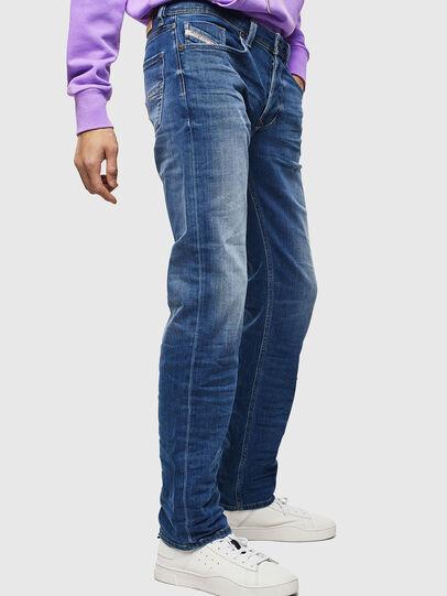 Diesel - Larkee 0097X, Blu medio - Jeans - Image 4