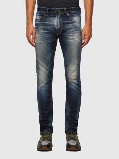 Diesel - Thommer 009JT, Blu Scuro - Jeans - Image 1