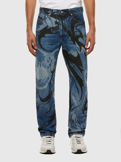 Diesel - D-Macs 0079I, Blu medio - Jeans - Image 1