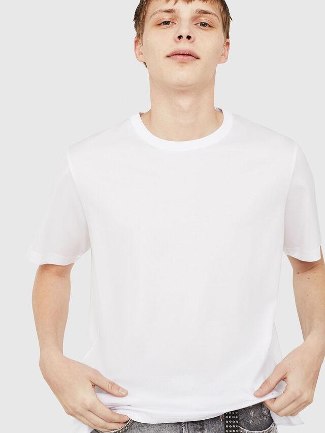 Diesel - T-YORI-Y1, Bianco - T-Shirts - Image 4