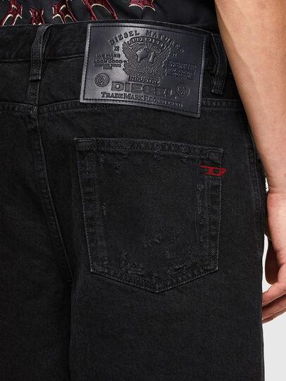 Diesel - D-STRUKT-SHORT, Nero/Grigio scuro - Shorts - Image 4