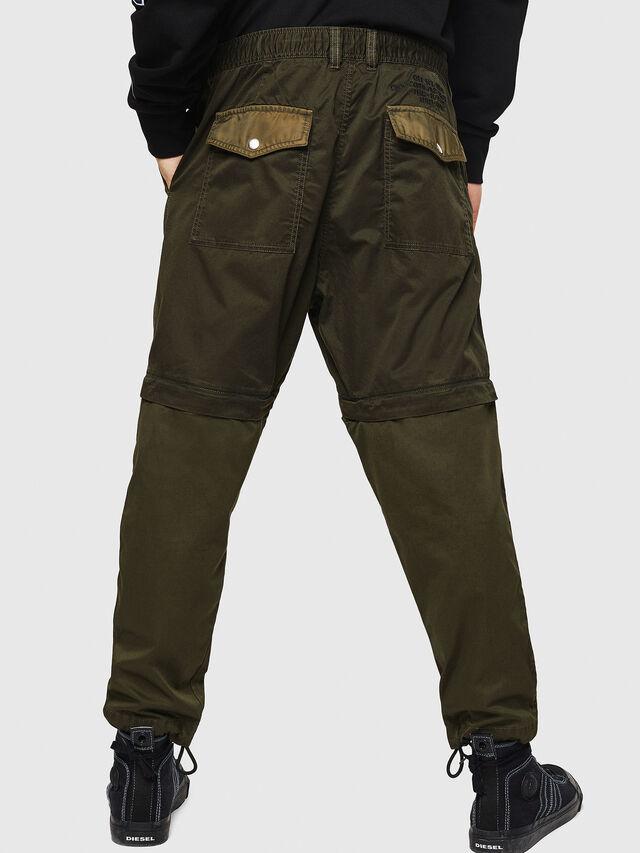 Diesel - P-CASHORT, Verde Militare - Pantaloni - Image 2
