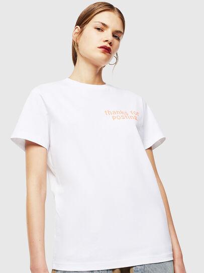 Diesel - T-DIEGO-J20, Bianco - T-Shirts - Image 2