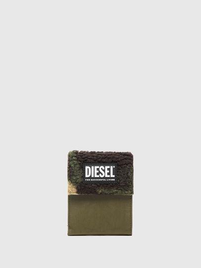 Diesel - HIRESH FD, Verde Militare - Portafogli Piccoli - Image 1