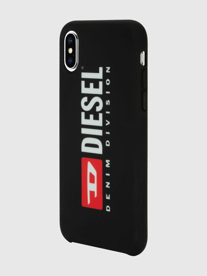 Diesel - DIESEL PRINTED CO-MOLD CASE FOR IPHONE XS & IPHONE X, Nero/Bianco - Cover - Image 5