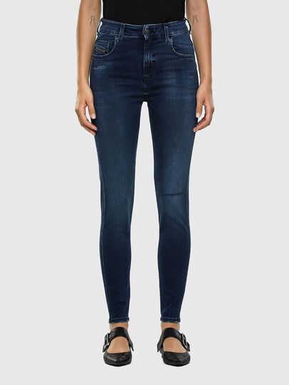 Diesel - Slandy High 009LR, Blu medio - Jeans - Image 1