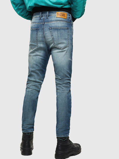 Diesel - D-Vider JoggJeans 069JZ, Blu Chiaro - Jeans - Image 2