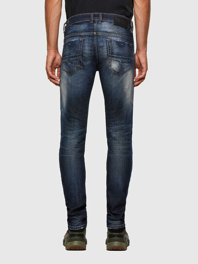 Diesel - Thommer 009JT, Blu Scuro - Jeans - Image 2