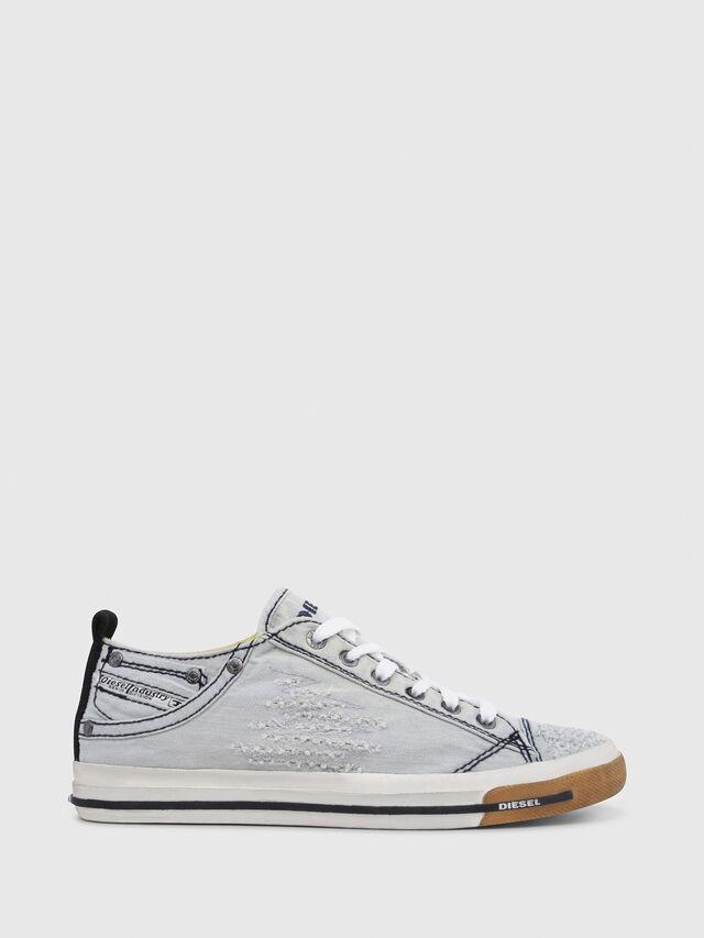 Diesel - EXPOSURE IV LOW  W, Blu Chiaro - Sneakers - Image 1