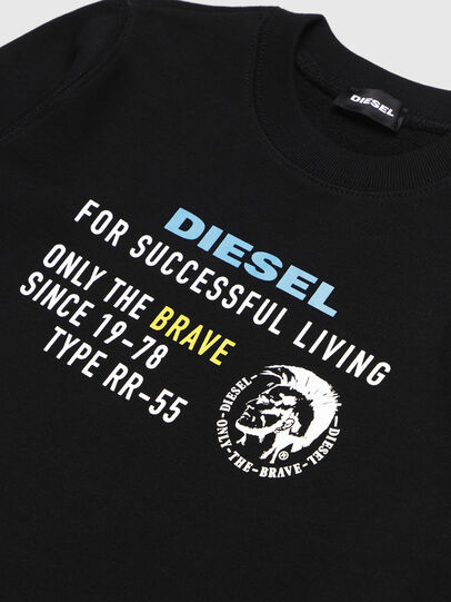 Diesel - SDIEGOXBJ, Nero - Felpe - Image 3