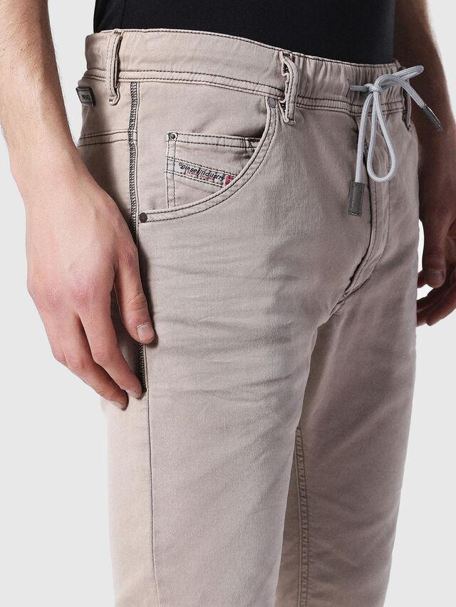 Diesel - Krooley JoggJeans 0670M, Marrone Chiaro - Jeans - Image 3
