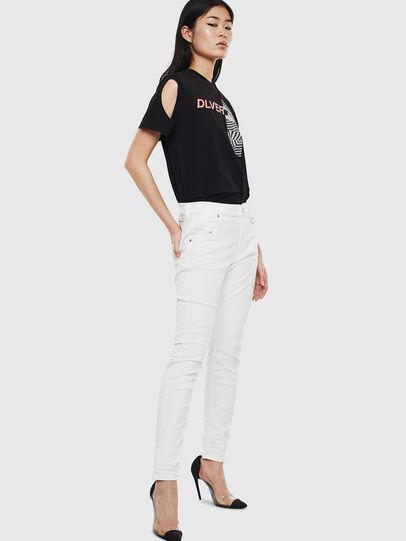 Diesel - Krailey JoggJeans 069DS, Bianco - Jeans - Image 5