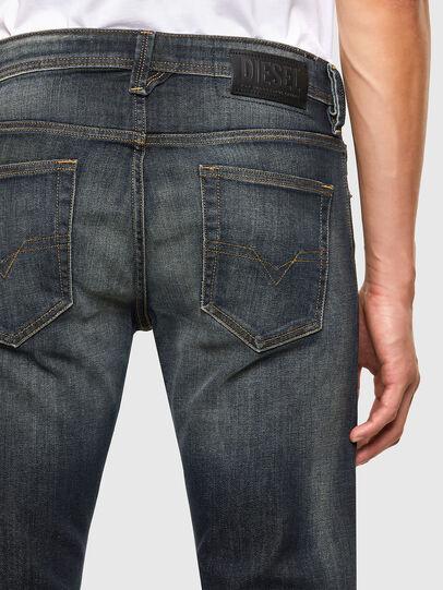 Diesel - Larkee 009EP, Blu Scuro - Jeans - Image 3