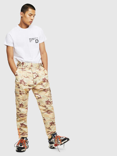 Diesel - T-HOVER, Bianco - T-Shirts - Image 5