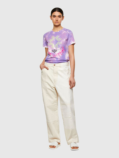 Diesel - T-SILY-A12, Lilla - T-Shirts - Image 5