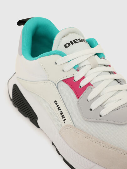Diesel - S-TYCHE LOW CUT W, Bianco/Grigio - Sneakers - Image 4