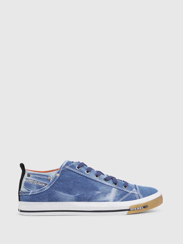 Diesel - EXPOSURE LOW I, Blu Jeans - Sneakers - Image 1