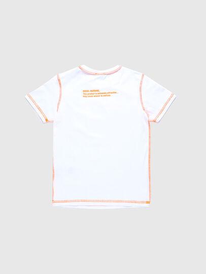 Diesel - TJUSEAM, Bianco - T-shirts e Tops - Image 2