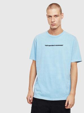 T-JUST-NEON, Azzurro - T-Shirts