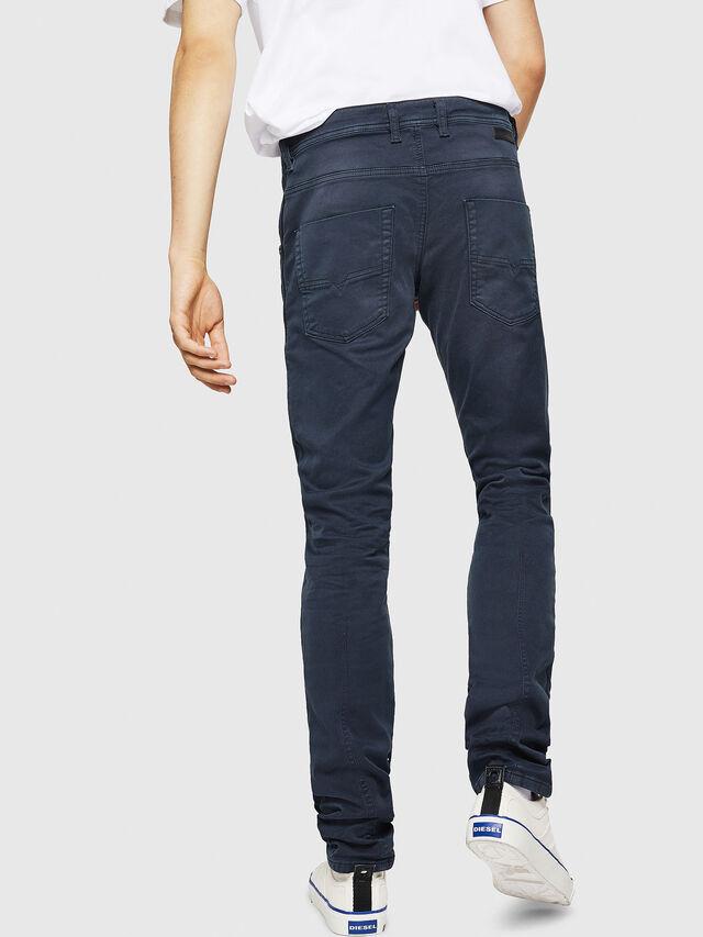 Diesel - Krooley Long JoggJeans 0670M, Blu Scuro - Jeans - Image 2