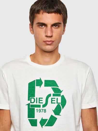 Diesel - T-DIEGOS-N23, Bianco - T-Shirts - Image 3